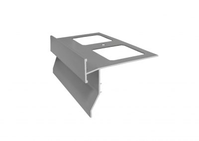 Goterón de aluminio para balcones y terrazas