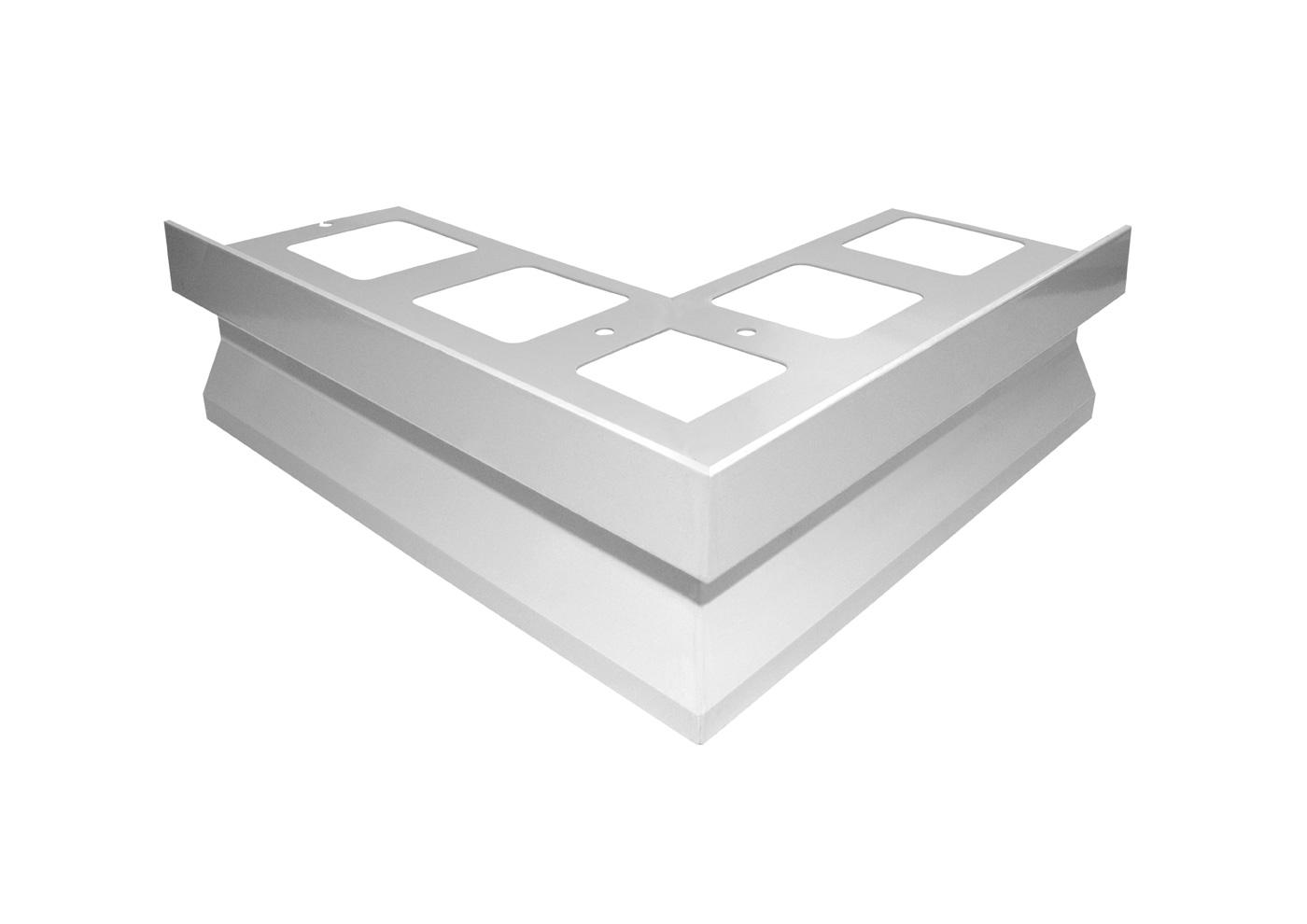 Gocciolatoio TOP per balconi e terrazze in alluminio