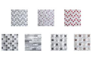 Mosaico de aluminio