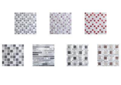 Aluminium mosaic