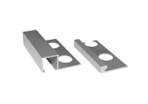 Aluminio squared protection corner Jolly