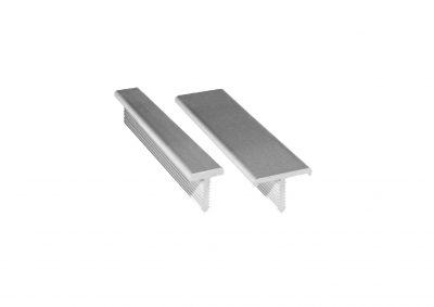 "Perfile listelo ""T"" de aluminio"