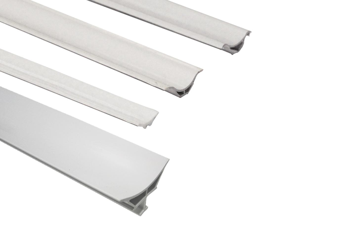 profilo raccordo igienico PVC