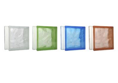 Bloque de vidrio nubla 19x19CM