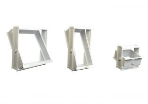 Frame for glass holder