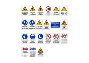 Information and danger signs