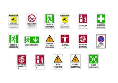 Aluminium signs 20×30