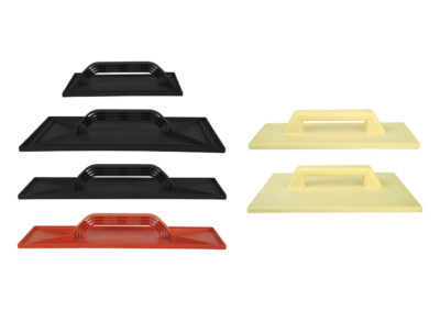 Pplastering trowel with plastic base, Trowler in polyurethane