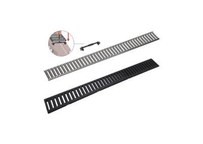 Rejilla + Acesorios canaleta individual «Compact»