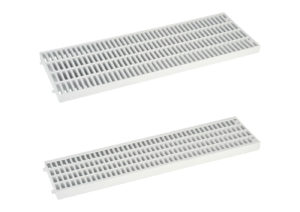 Grating for channel drain