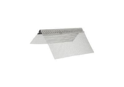 Paraspigolo in alluminio con rete