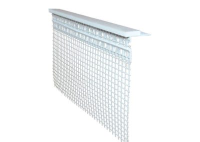 Sill profile with mesh