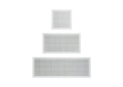Rejilla de ventilacion de plastico