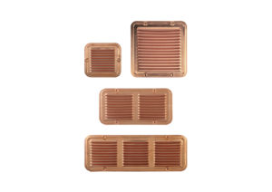 Copper gratings