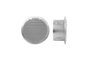 Rejilla de ventilacion de aluminio