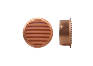 Round copper grating