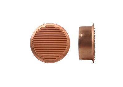 Rejilla redonda de cobre