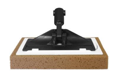 Paleta con esponja de limpieza de suelos