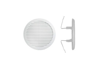 Rejilla de ventilacion de plastico con muelles